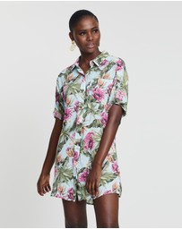 Rusty - Oasis Party Shirt Dress