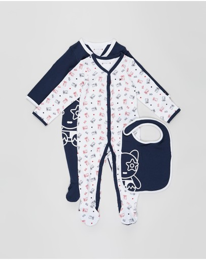 Tommy Hilfiger - Preppy Mascot Giftbox - Babies