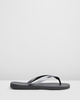 Havaianas - Havaianas Top Mix   Men's - All thongs (Black, Steel Grey & Black) Havaianas Top Mix - Men's