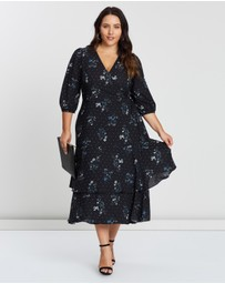 Cooper St - CS CURVY Meghan Tie Waist Layered Dress