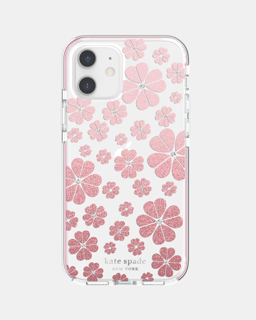 Kate Spade iPhone 12 & Pro Defensive Case Tech Pink