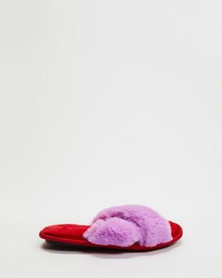 Kip&Co Slippers   Kids - Slippers & Accessories (Raspberry Bubble)