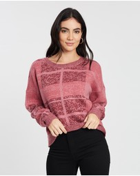 All About Eve - Criss Cross Knit