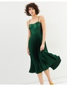 Whistles - Satin Pleated Strappy Dress