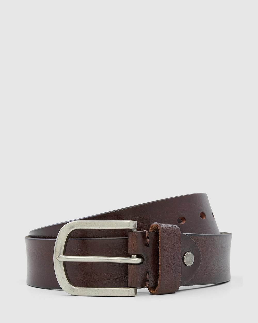 Aquila Renford Belt Belts Brown