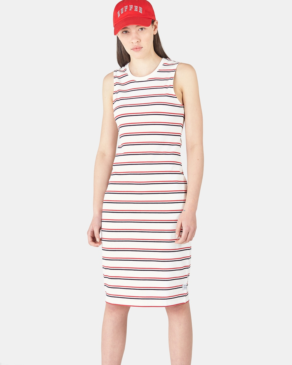 Huffer NAVY/RED Fresh Stella Dress