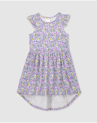 Milky - Vintage Floral Dress - Kids