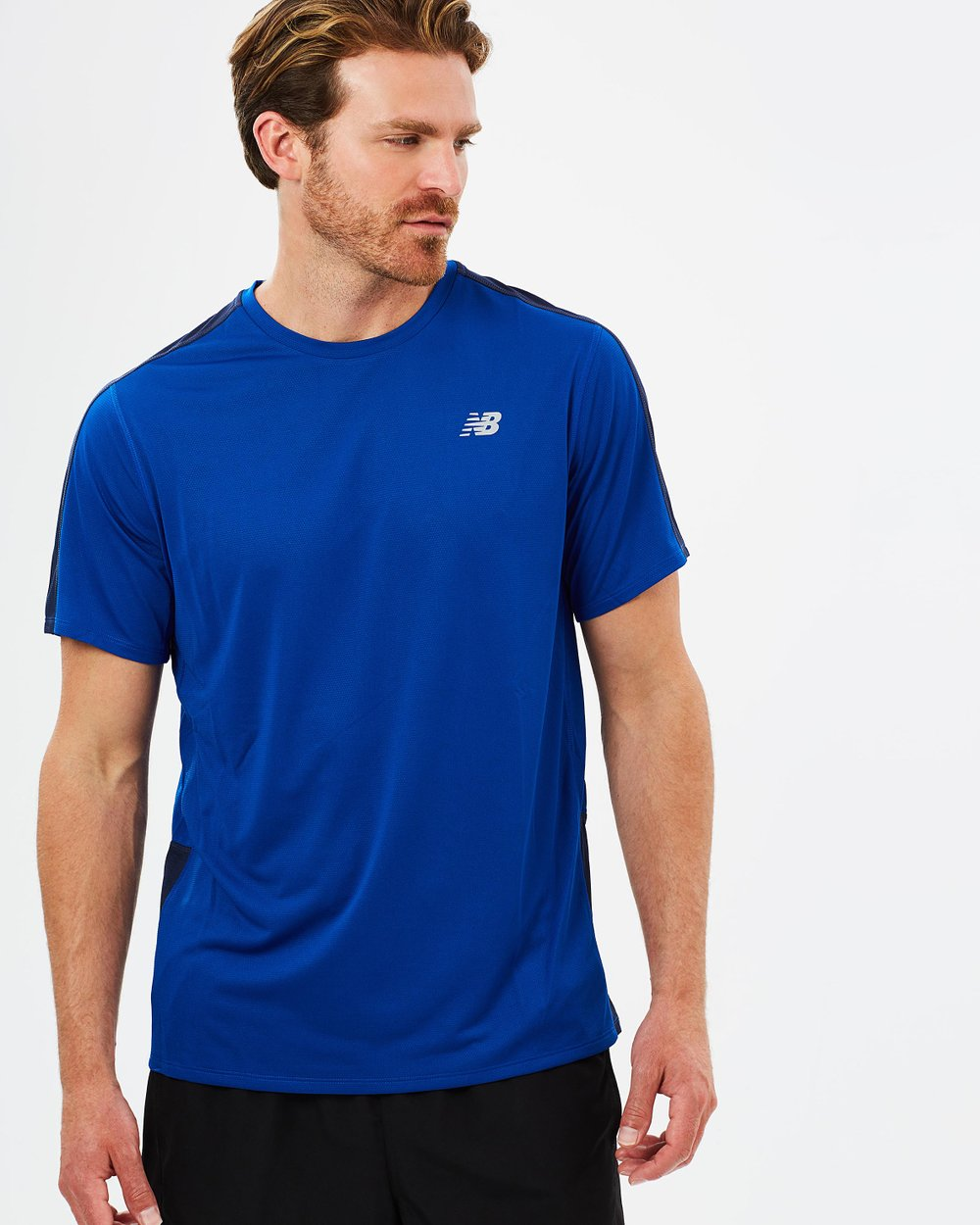 8a7271067d049 Accelerate Short Sleeve Tee by New Balance Online | THE ICONIC | Australia