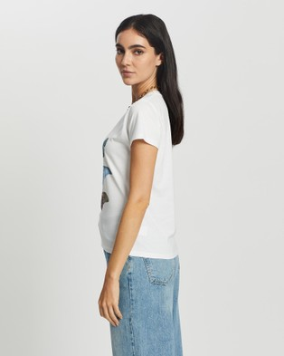 All About Eve All of Us Tee - T-Shirts & Singlets (WHITE)