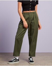 Stussy - Harlan Cropped Pleat Pants