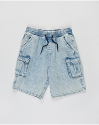 Free by Cotton On - Charlie Cargo Shorts - Teens