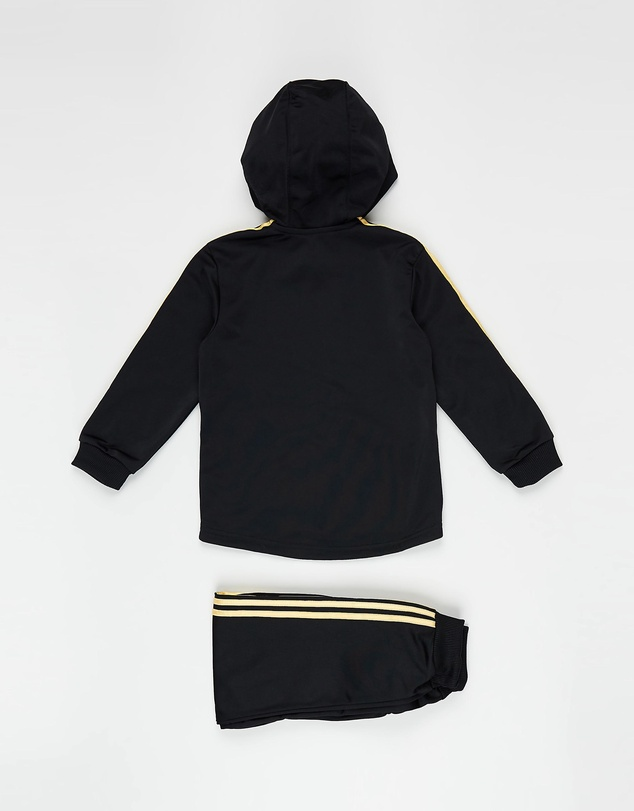 adidas Originals - Shiny Hooded Jogger Set - Babies-Kids