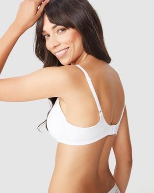 Cotton On Body Ultimate Comfort T Shirt Bra - Underwire Bras (White)