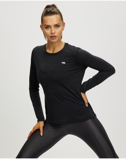 Running Bare - Always Crew Long Sleeve Workout Tee