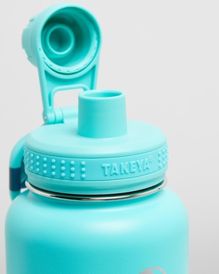 TAKEYA 32oz Insulated Stainless Steel Bottle - Water Bottles (Teal)