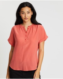Marcs - Extended Notice Silk Blouse