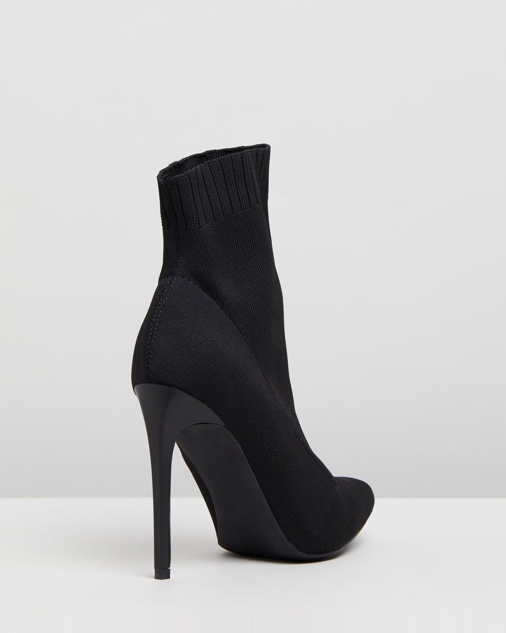 5fbba592507a Pointed Sock Boots by Missguided Online
