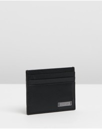 Calvin Klein - Smooth Plaque Cardholder