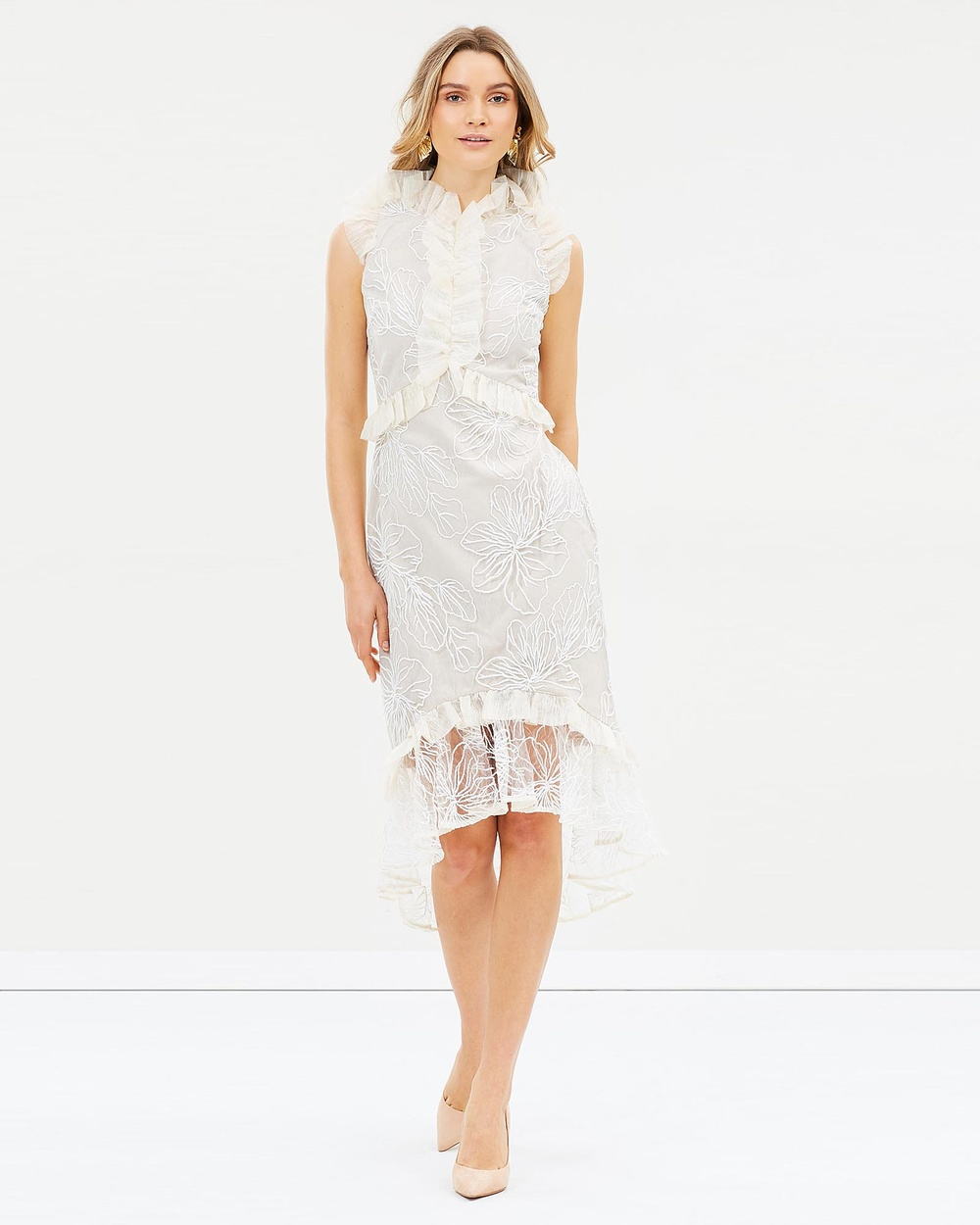 Elliatt Serena Dress Dresses White Serena Dress