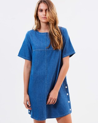 Ryder – Cady Chambray Dress – Dresses (Chambray)
