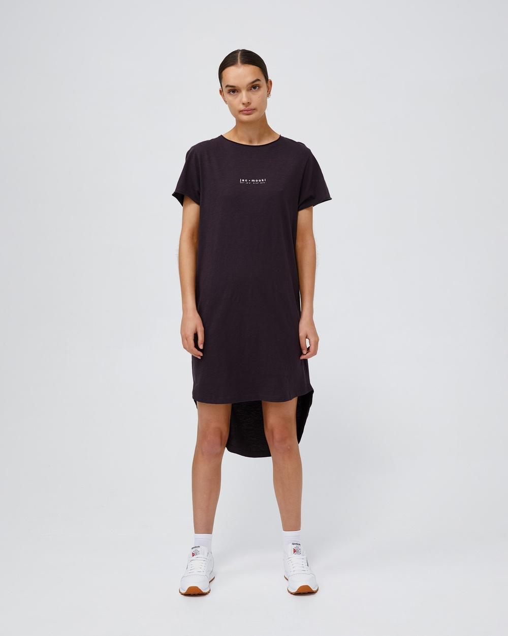 Jac & Mooki Kendall Dress Dresses vintage black Australia