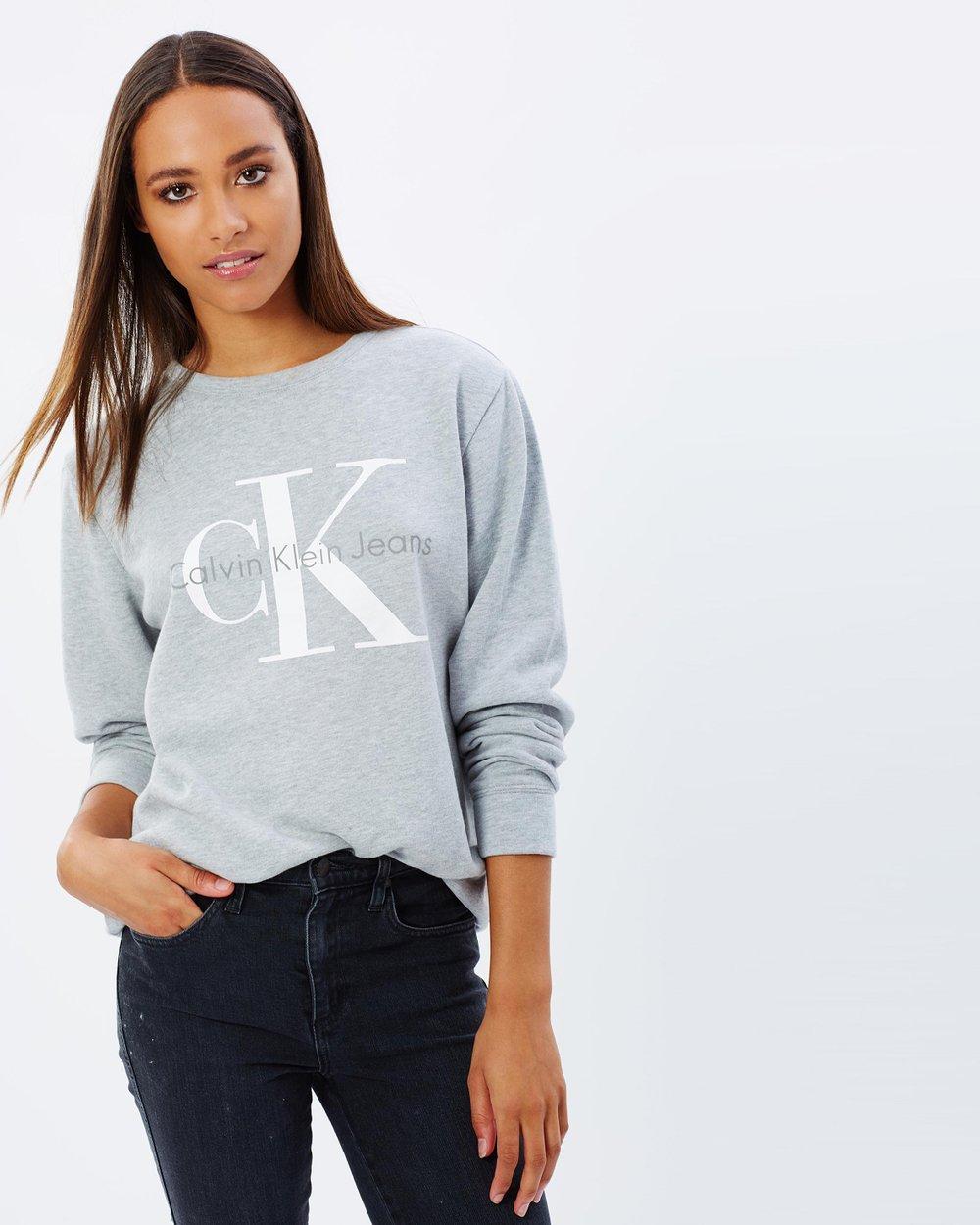 c4fd165f8fe Urban CK Logo Sweatshirt by Calvin Klein Jeans Online