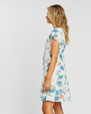 KAJA Clothing Belinda Dress - Printed Dresses (Floral)
