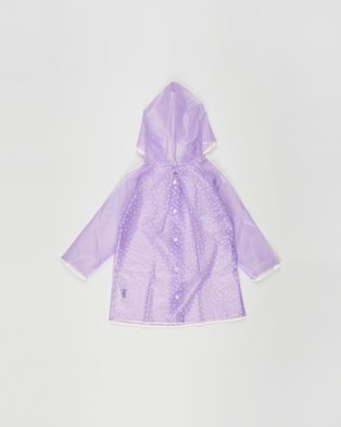 Cotton On Kids Cloudburst Raincoat   Kids - Accessories (Pale Violet Puff Daisy)