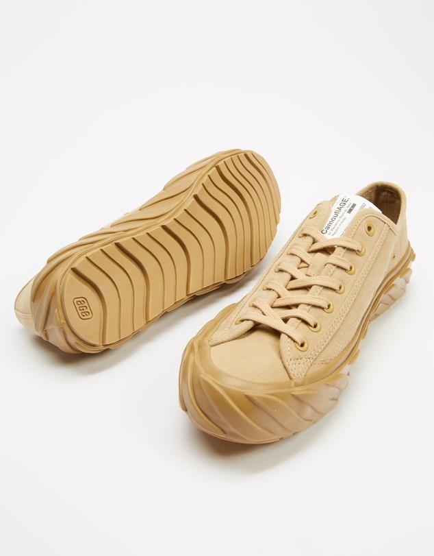 Women CUT Military Cargo Sneakers