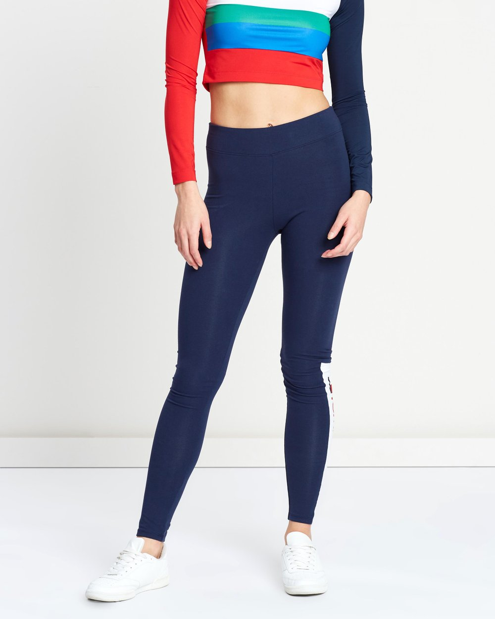 441708acb9b61 Contrast Panel Leggings by Tommy Sport Online | THE ICONIC | Australia