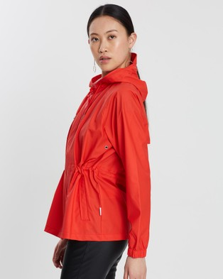 RAINS W Jacket - Coats & Jackets (Red)