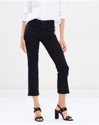 J Brand - Selena Mid Rise Crop Boot Cut Jeans