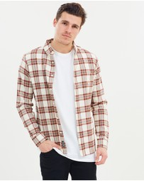 Staple Superior - Mason Long Sleeve Check Shirt