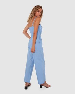 Madison The Label Westcott Jumpsuit - Jumpsuits & Playsuits (Pastel Blue)