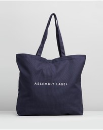 Assembly Label - Logo Tote