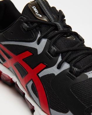 ASICS GEL Quantum 180   Men's - Performance Shoes (Black & Classic Red)