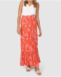 Lost in Lunar  - Esther Maxi Skirt