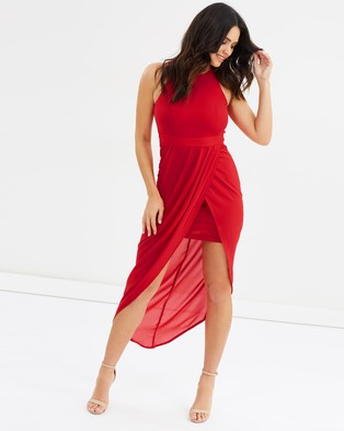 Fresh Soul – Fanciful Dress – Bodycon Dresses Red