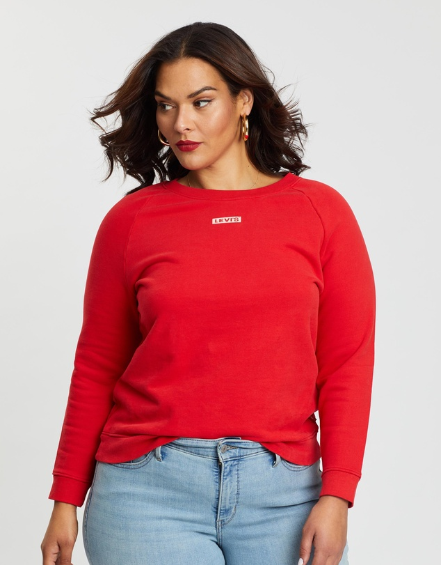 Levi's Plus - Relaxed Graphic Crew Sweat