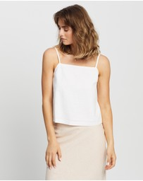 Nude Lucy - Miles Linen Cami