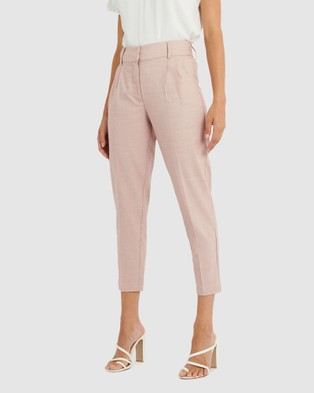 Forcast Rosa Tapered Pants - Pants (Dusty Pink)
