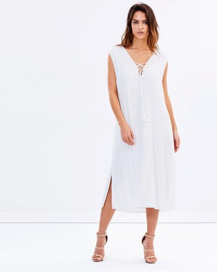 Jetset Diaries – Iris Midi Dress Ivory