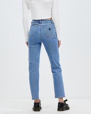 Abrand A '94 High Slim Jeans Crop Georgia 2730