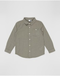 Cotton On Kids - Fairfax Long Sleeve Shirt - Kids
