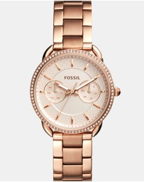 Fossil - Tailor Rose Gold-Tone Chronograph Watch