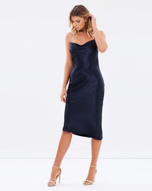Bec & Bridge – Sirens Midi Dress – Dresses (French Navy)
