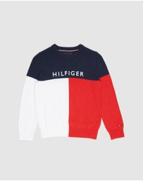 Tommy Hilfiger - Colourblock Sweater - Kids