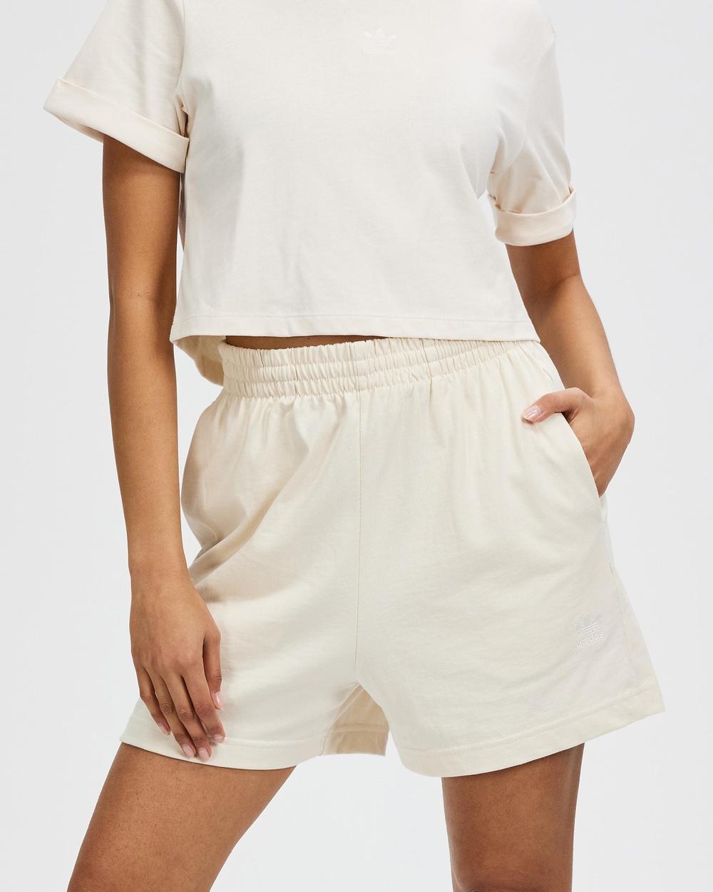 adidas Originals Adicolor Essentials Shorts Wonder White