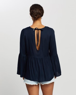 All About Eve Maci Top - Tops (NAVY)