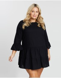 Atmos&Here Curvy - ICONIC EXCLUSIVE - Zoella Smock Dress